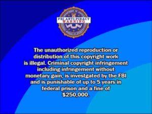 fbi warning screen on phone