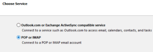Gmail in Outlook