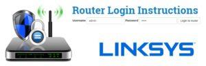 Linksys router setup