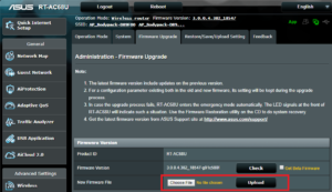 asus router firmware update