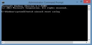 error connection