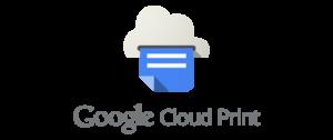 Google Cloud Print Setup