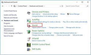 Fix Headphones Not Working Windows 10 Error