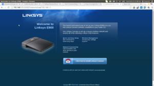 Linksys router login
