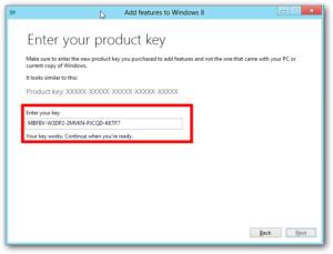 Windows 8 pro product key