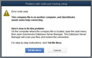How to fix QuickBooks error H202