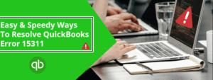 quickbooks update error 15311