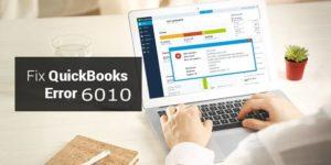 quickbooks error code 6010