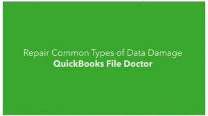 Quicbooks file Doctor
