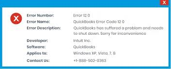 Quickbooks Error