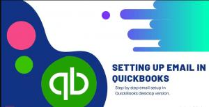 Setup email in Quickbooks