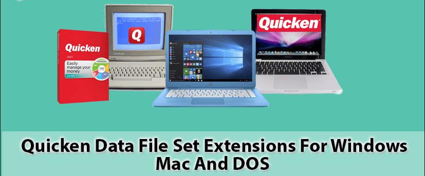 QUicken file extension