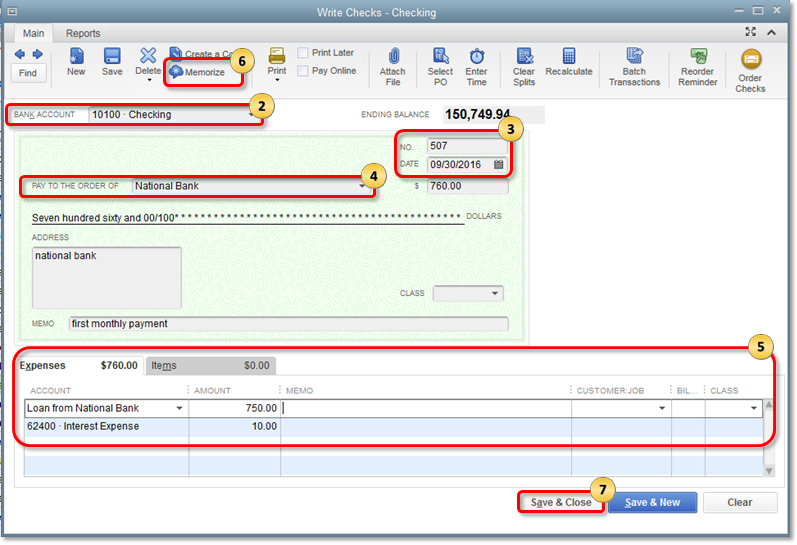 Set up Quickbooks Loan Manager