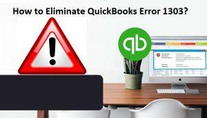 QB Error Code 1303