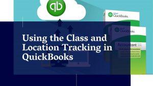 QUickbooks class Tracking