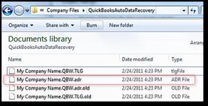 Quickbooks file
