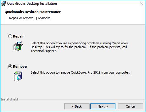 QB Error Code 6123